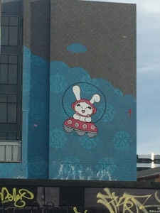 astro bunny graffiti